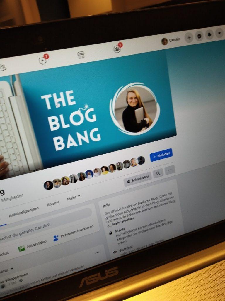 Start von The Blog Bang