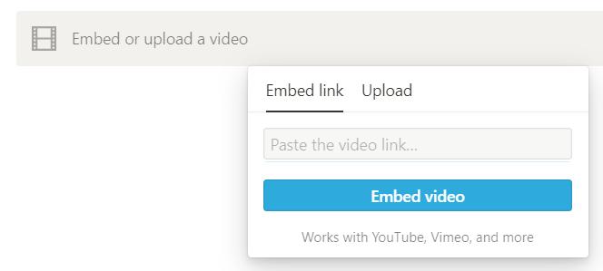 Tutorial für Notion-Anfänger: Multimedia-Dateien in Notion einbetten