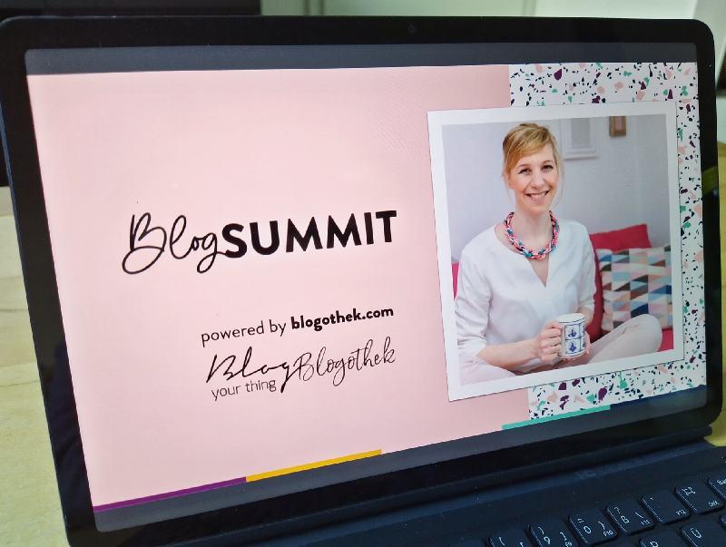 Auf meinem Tablet läuft der Blog Summit von Blog your thing