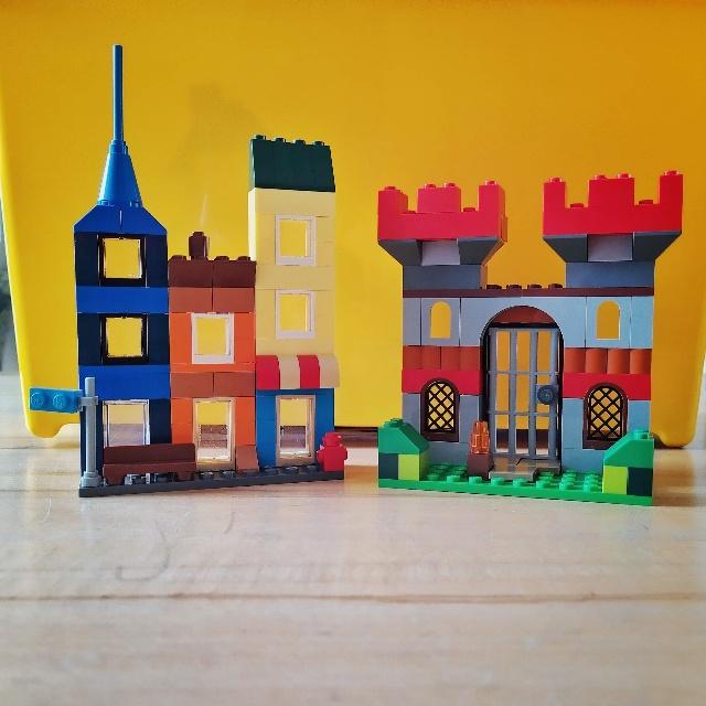 12 von 12 September 2021: Zwei Legobauwerke