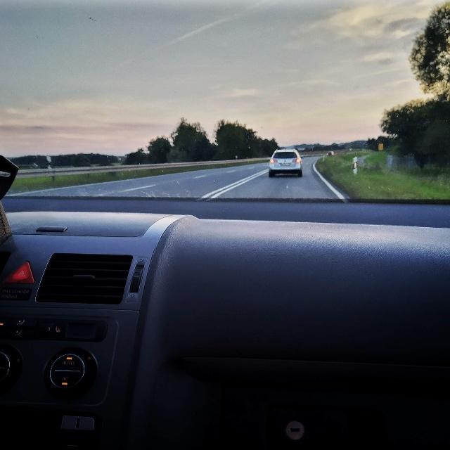12 von 12 September 2021: Autofahrt nach Hause